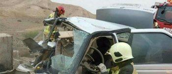 برخورد تریلر، مینیبوس و سمند در تبریز ۸ کشته و زخمی برجای گذاشت